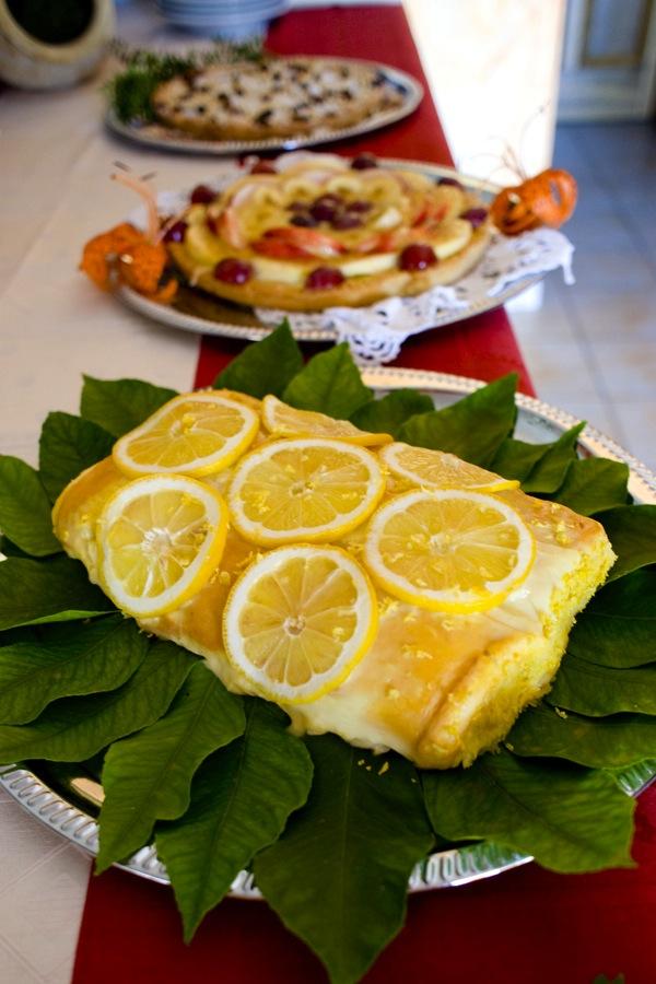La colazione al B&B Nilosira, una torta al limone che profuma di Salento