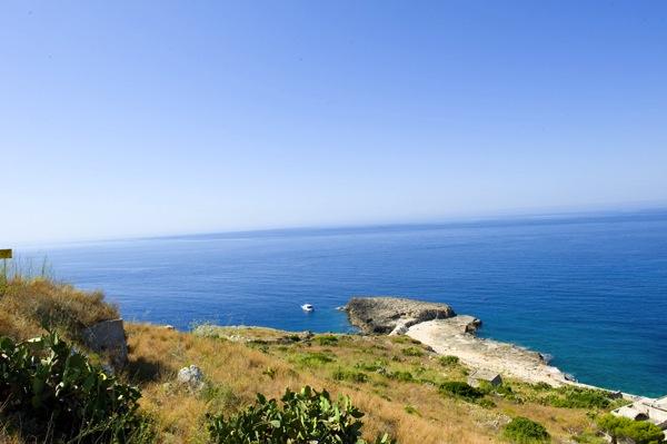 Il Salento. La costa sul mare Adriatico. A 2 Km dal B&B Nilosira, Marina Serra, Ciolo, Novaglie, Leuca